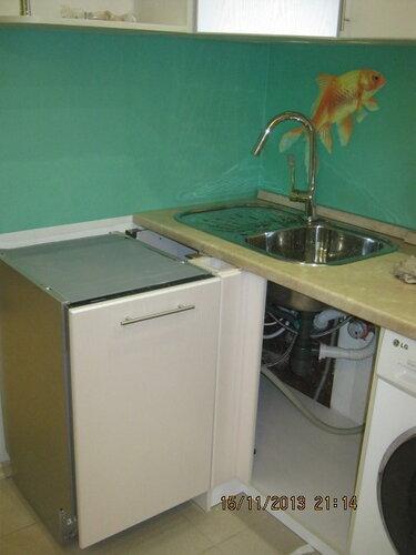 Вот как будет выглядеть мойка на кухне