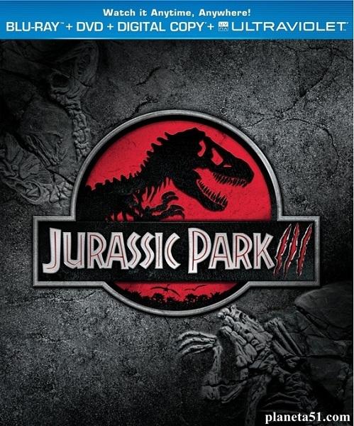 Парк Юрского периода3 / Jurassic Park III (2001/HDRip)