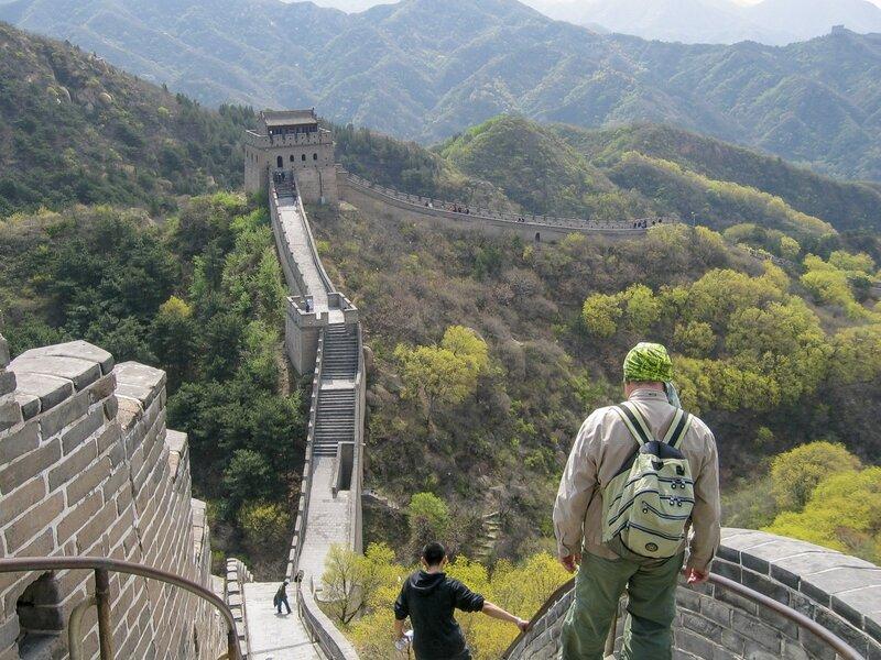 Спуски и подъемы, Великая китайская стена, Бадалин