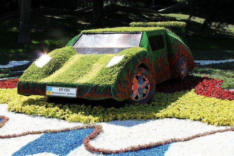 Огонь экстрима на Выставке Зеленых Авто