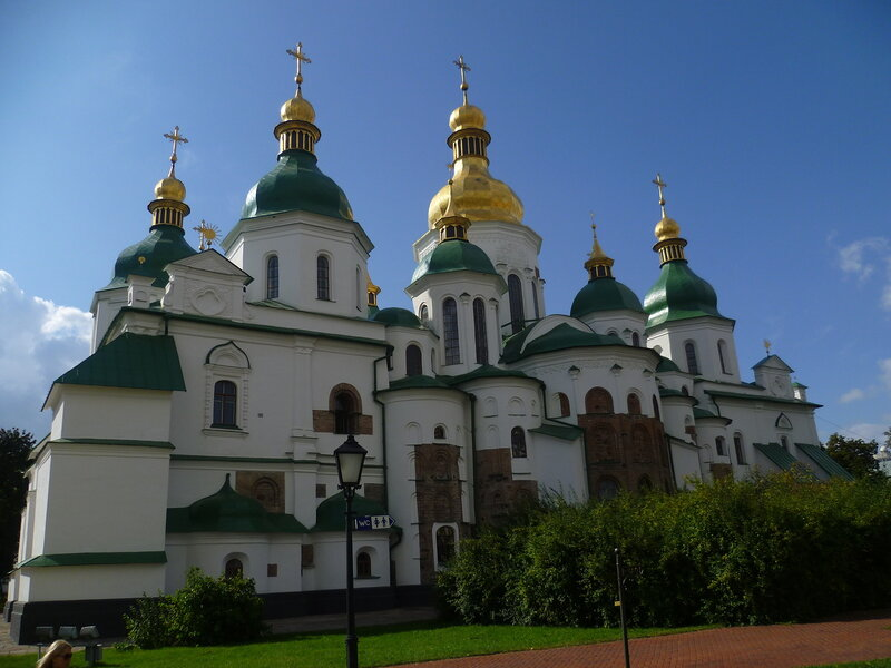 Украина, Киев - Софийский собор (Ukraine, Kiev - St. Sophia Cathedral)