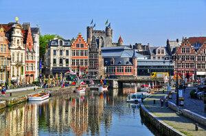 Гент - столица Восточной Фландрии