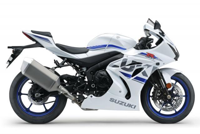 Новые расцветки Suzuki GSX-R1000 / GSX-R1000R 2018