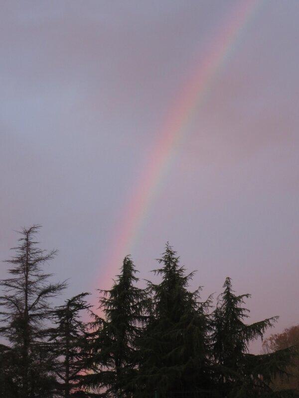 Закатная радуга