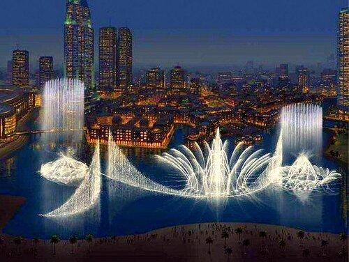 Удивительные фонтаны в Дубае..jpg