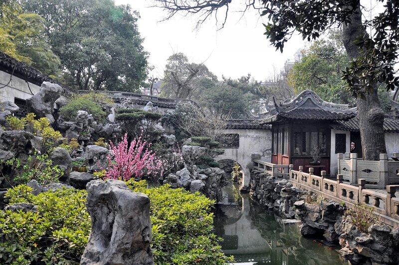 Укромный уголок. Китай. Шанхай