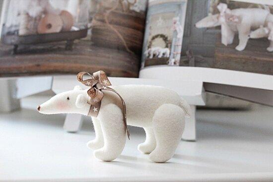 тильда полярный медведь