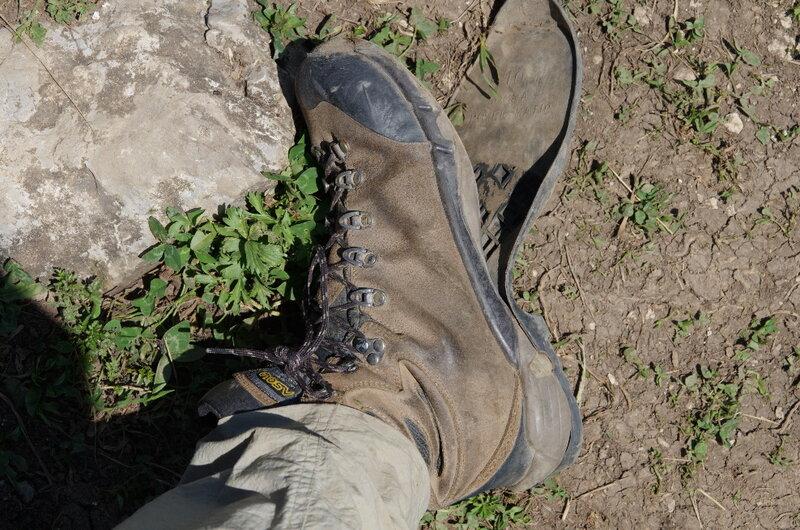 Ботинки Asolo Tribe в конце похода