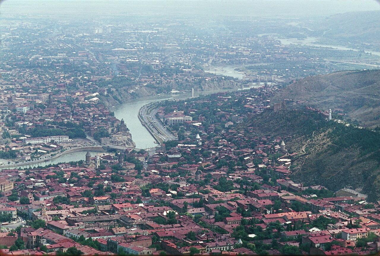 Тбилиси. Панорама города
