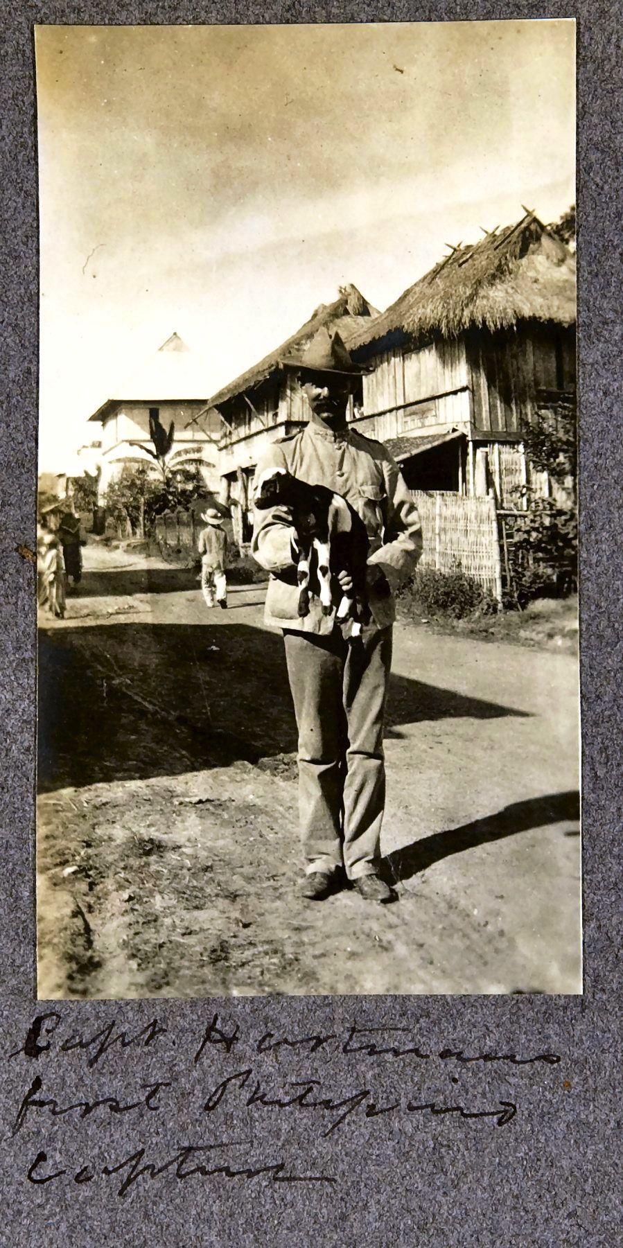 28. Первый филиппинский пленный капитана Хартманна