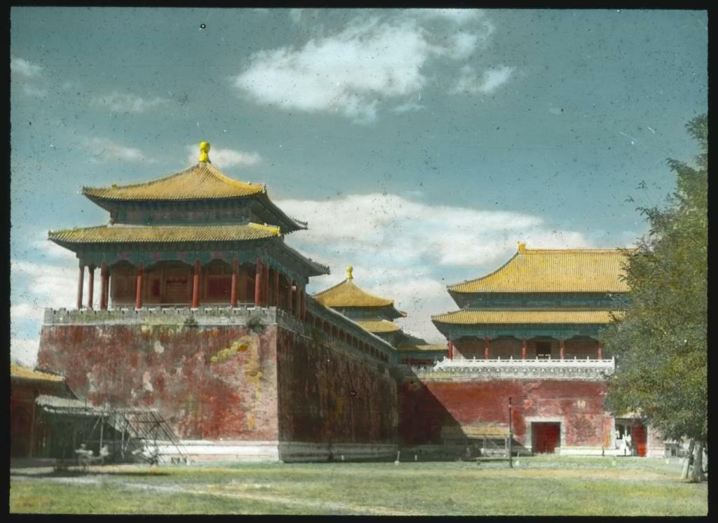 Пекин. Вход в Запретный город