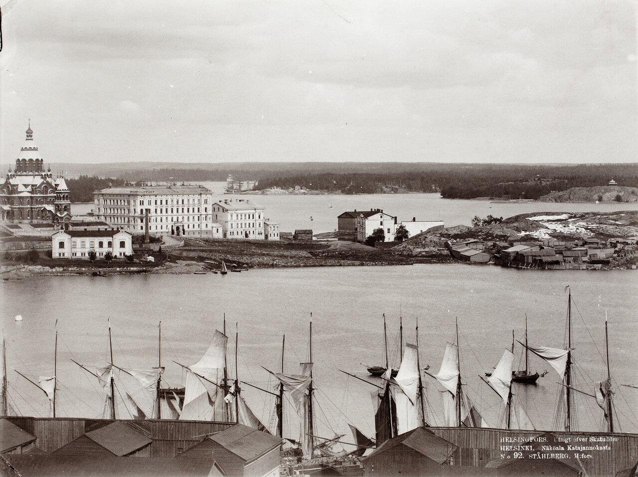 Южная гавань и Катаянокка, 1906