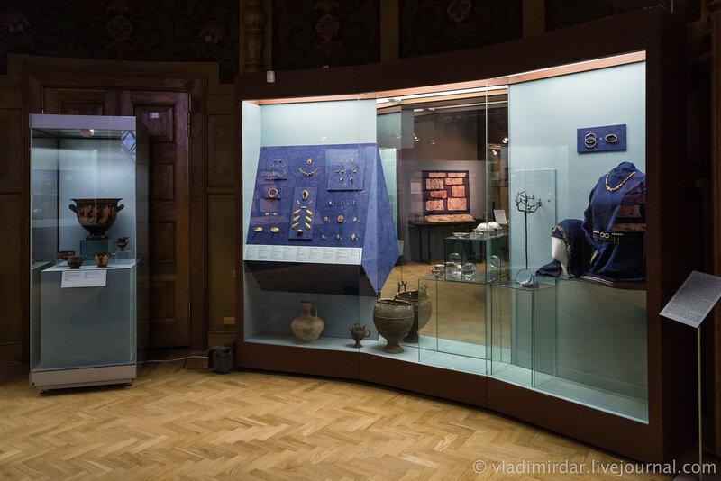 Выставка Золото потомков Геракла, Народы Прикубанья в VI в. до н.э. – III в. н.э. Витрина №6