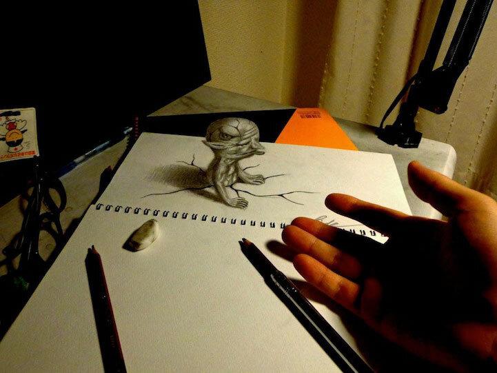 З-х мерные рисунки Нагаи Хидеюки