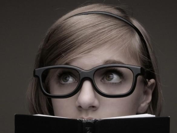 девушка умная фото
