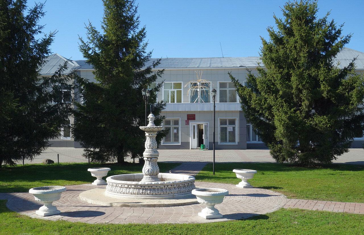 фонтан у п-ки