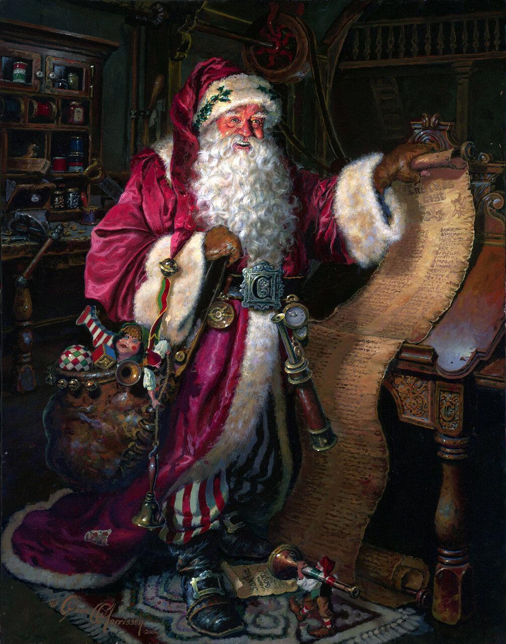 Dean Morrissey | В Новый год мы все немножко дети и наивно верим волшебству..., новогоднее