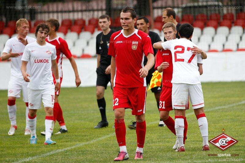«Спартак» vs «Уфа» 1:0 контрольный матч 2013 (Фото)