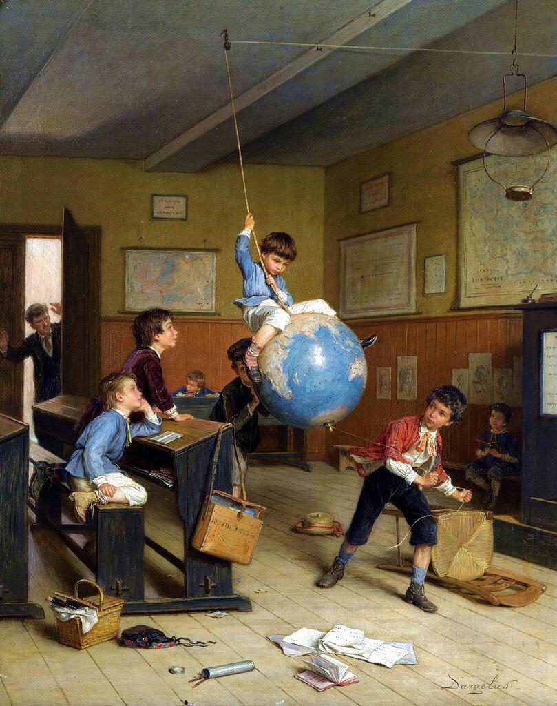 Andre-Henri Dargelas (FRENCH, 1828-1906) - LE TOUR DU MONDE