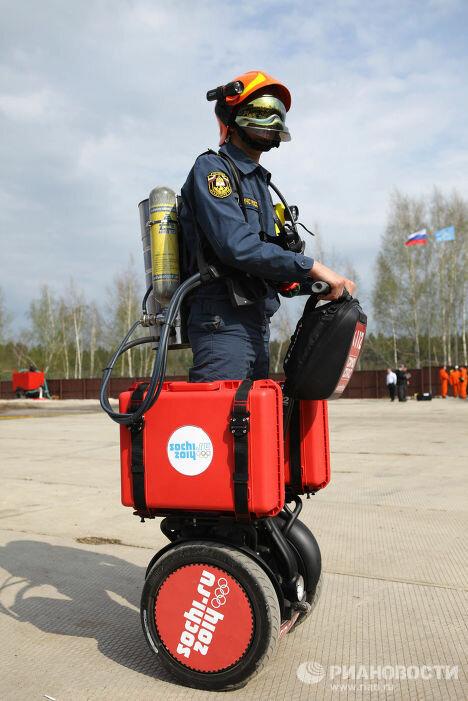 Пожарные в Сочи