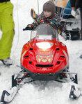 Тест-драйв детских снегоходов
