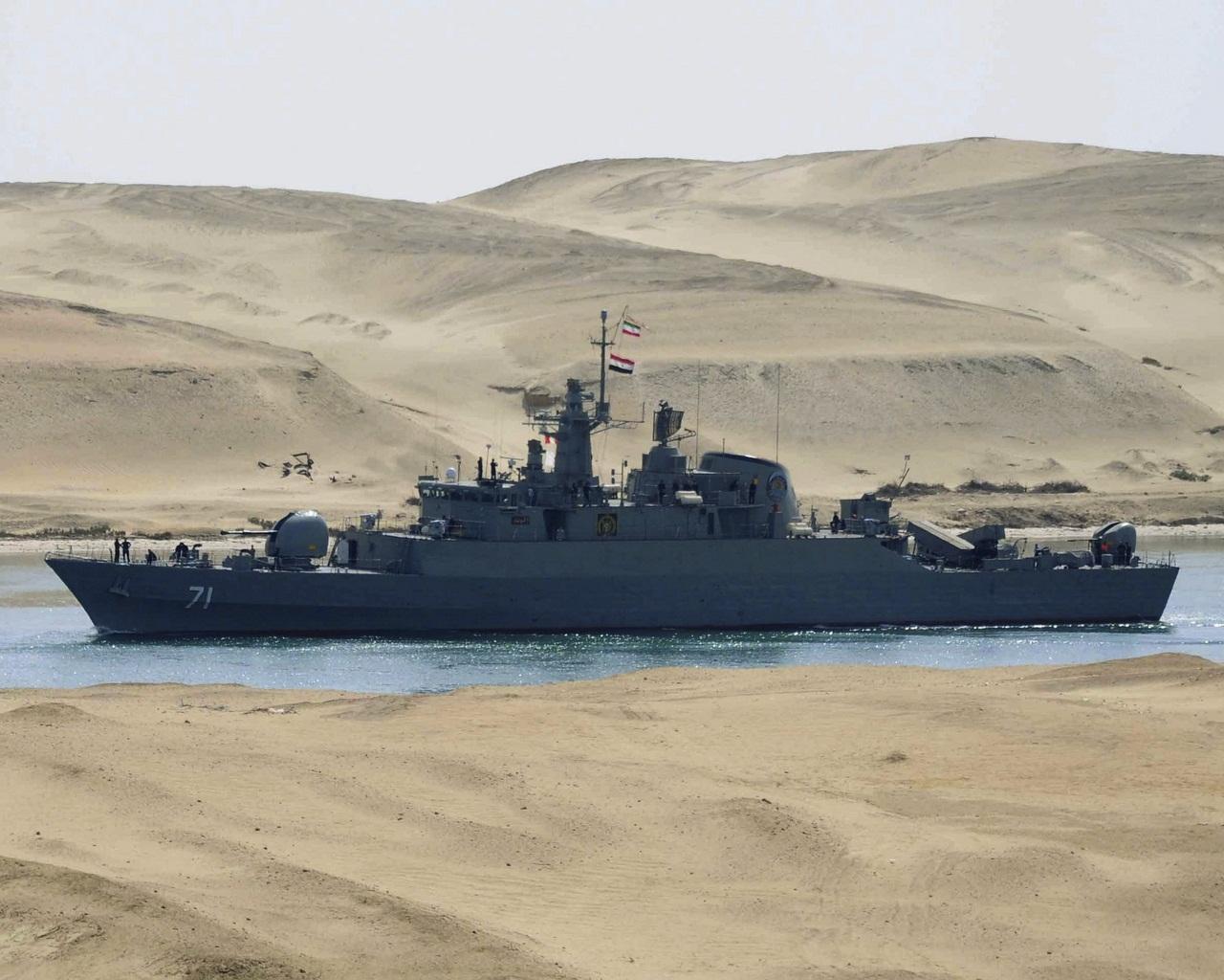 APTOPIX Mideast Egypt Iran Warships