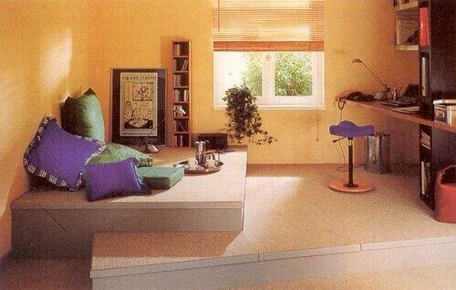 Хотите оригинальности в доме – установите подиум
