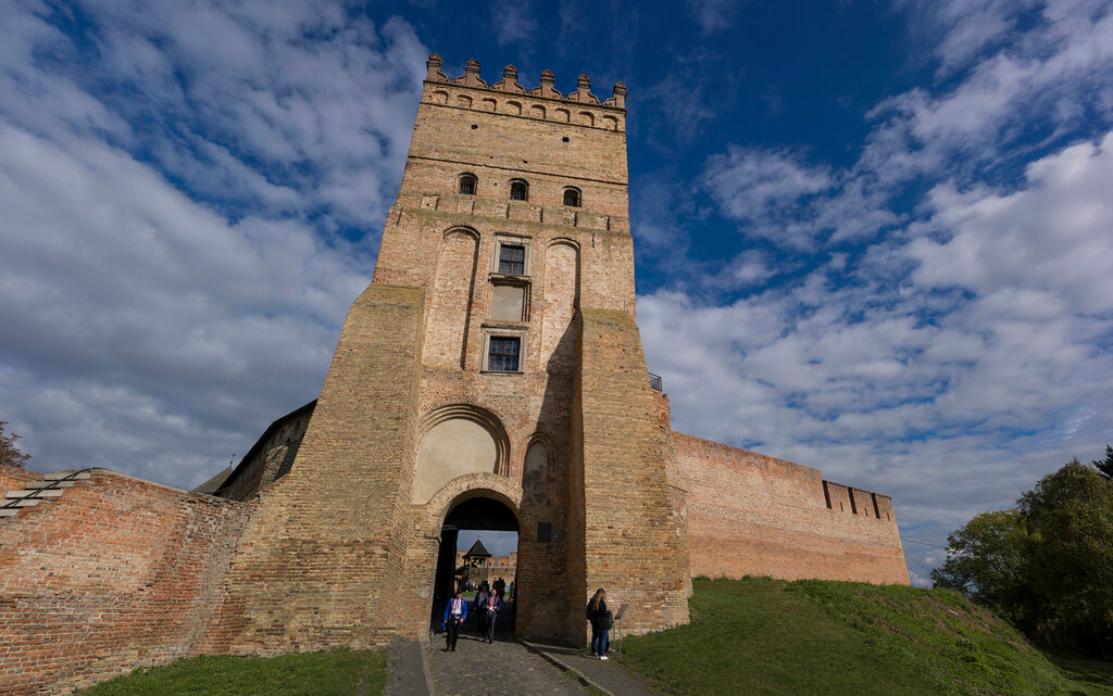 Луцкий замок. Замок Любарта