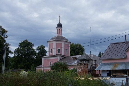 Церковь Воскресения Словущего в Васильевском