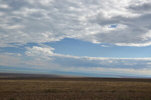 Вид на озеро Убсу-Нур