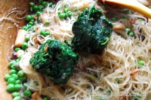 овощи с морепродуктами для фунчозы