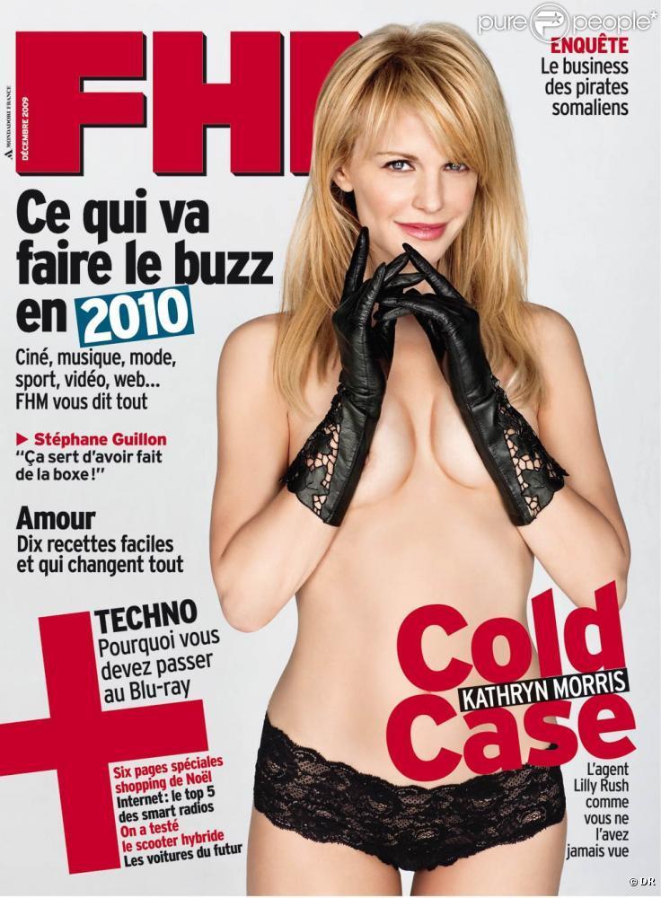Кэтрин Моррис (Kathryn Morris) в журнале FHM Франция, декабрь 2009