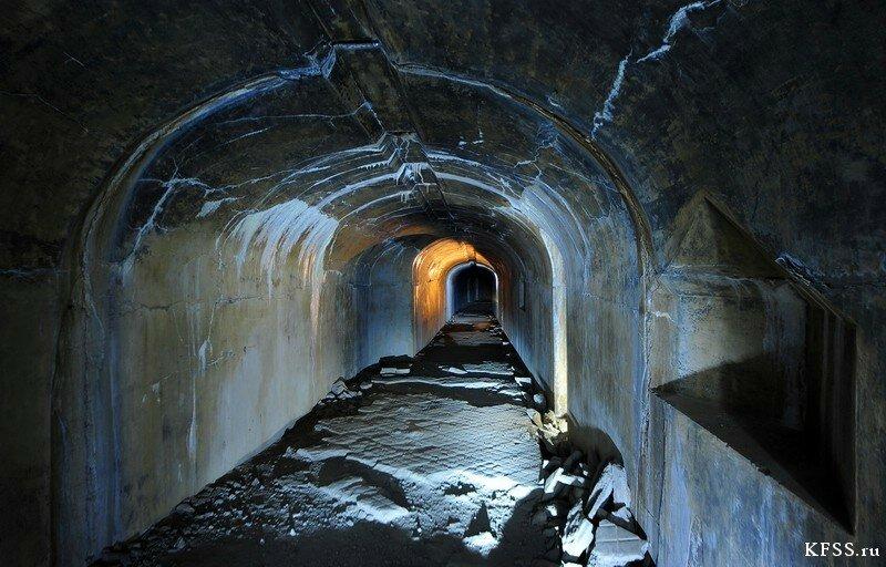 Форт №9 Владивостокской крепости, подземная часть