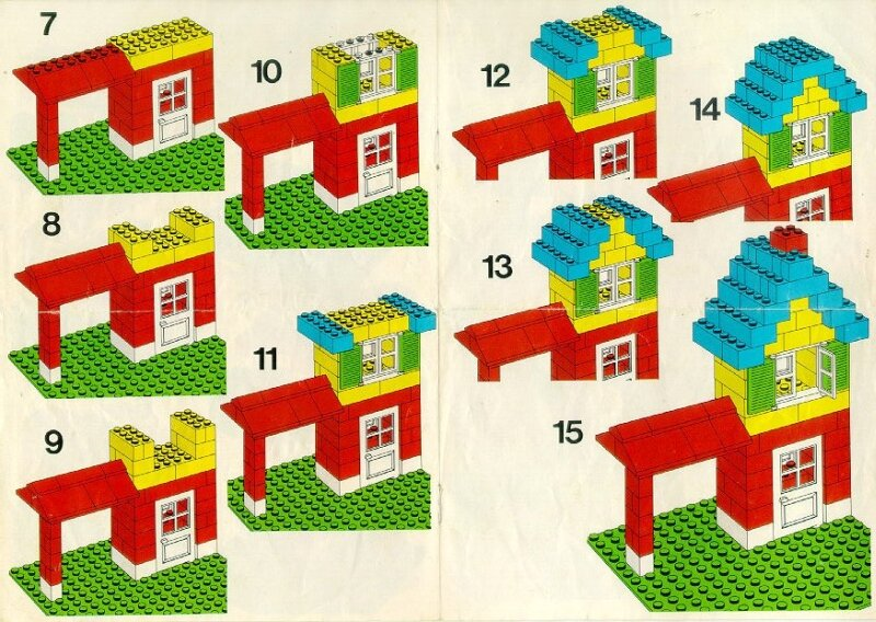 Бесплатная инструкция по сборке лего