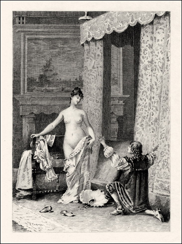 Eugène André Champollion, Théophile Gautier, Mademoiselle de Maupin