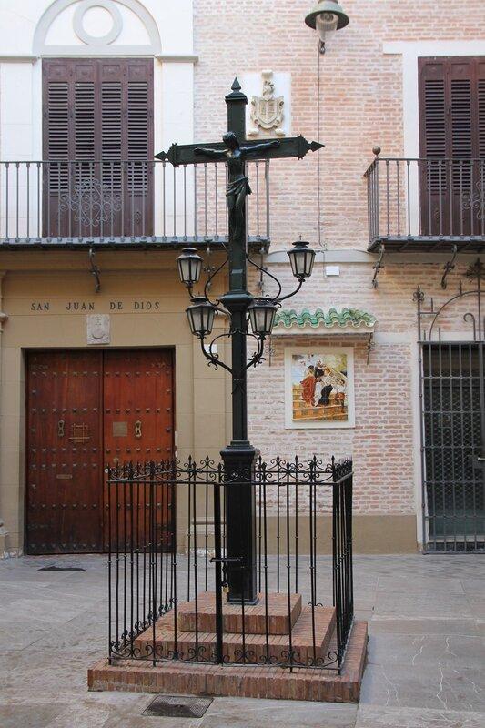 Малага. Пласуела Сан-Хуан-де-Диос (Plazuela San Juan de Dios)
