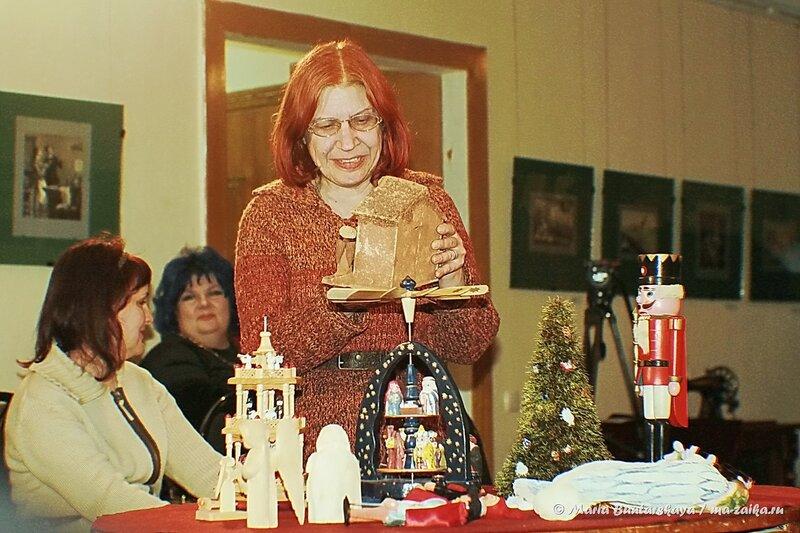 Рождественский вертеп, Саратов, музей Н.Г.Чернышевского, 26 декабря 2013 года