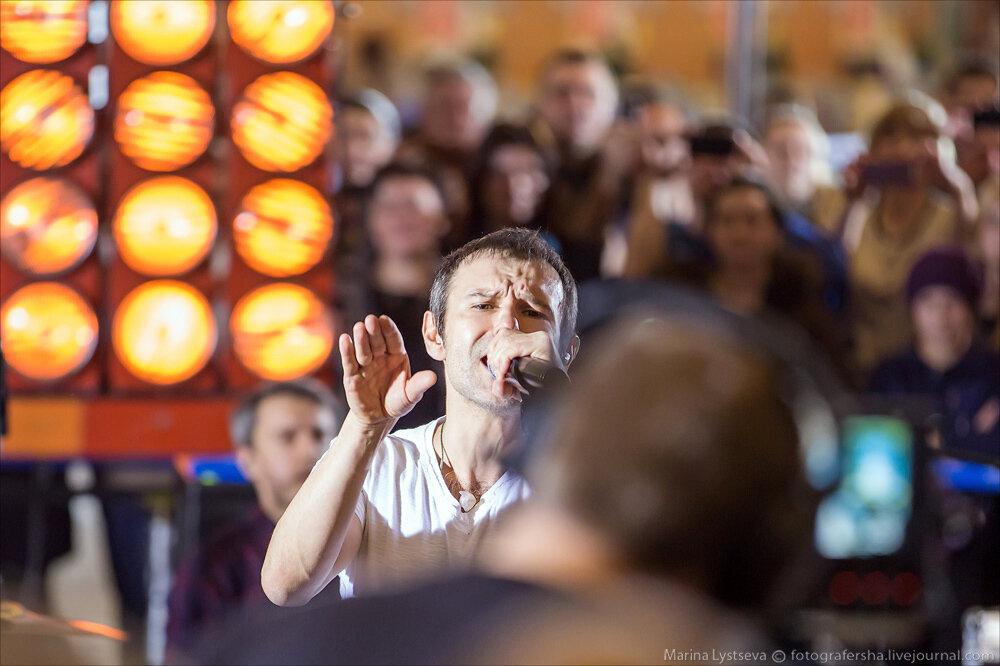 Океан Эльзи в Шереметьево с концертом