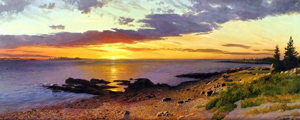 Чарующие и влекущие закаты и рассветы Артура Чартова