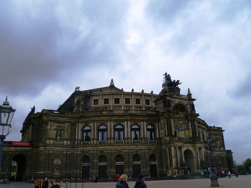 Германия, Дрезден – опера (Germany, Dresden – Opera)