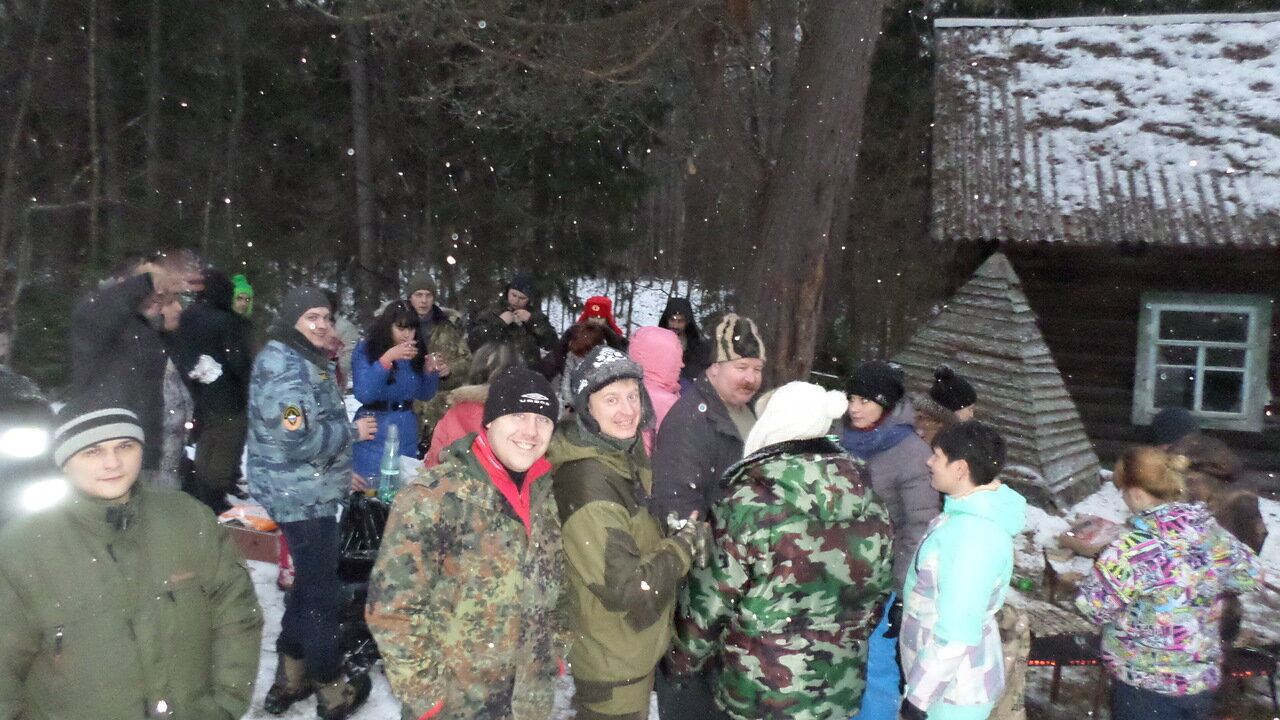 """""""Новогодний маскарад на Дураковских дорогах"""" 04.01.2014"""