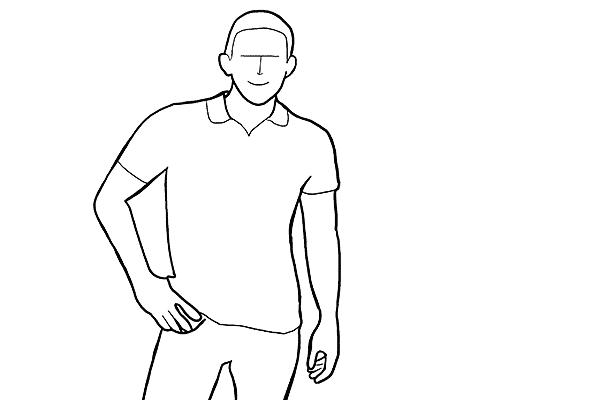 Позирование: позы для мужского портрета 3