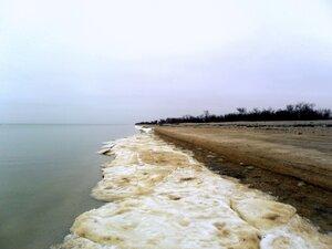 Зимой, у моря