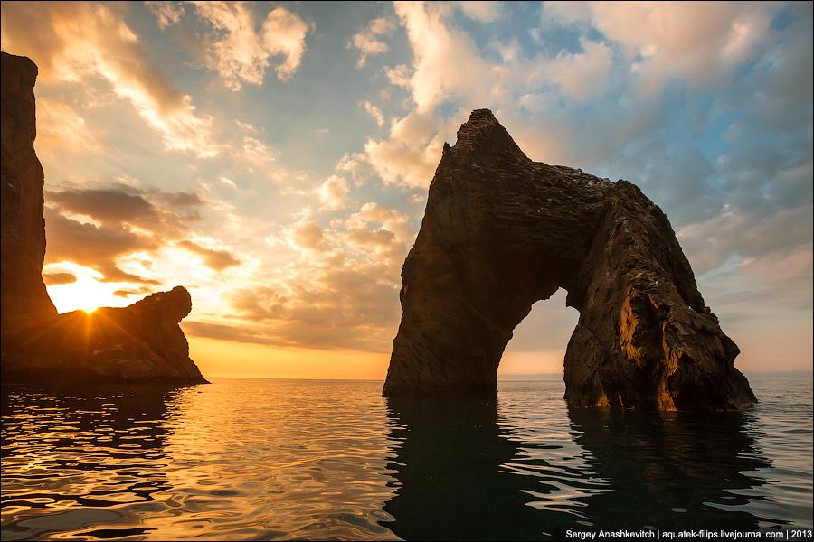 Картинки природы крыма золотые ворота