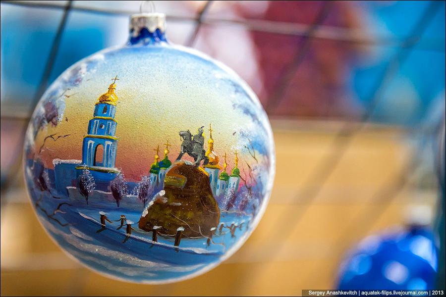 Adornos de Navidad de fábrica