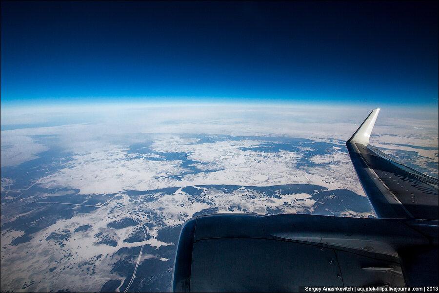 Россия с высоты 10 000 м