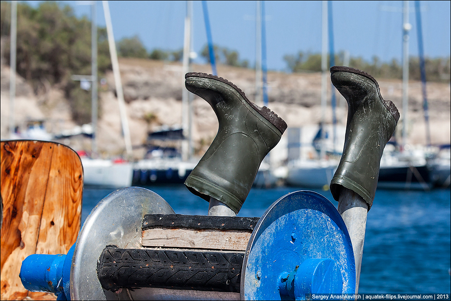 Греческие рыбаки