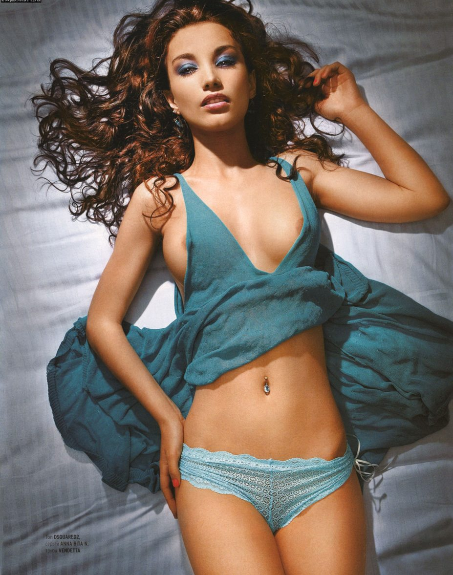 Виктория Дайнеко в журнале Playboy Россия, апрель 2007