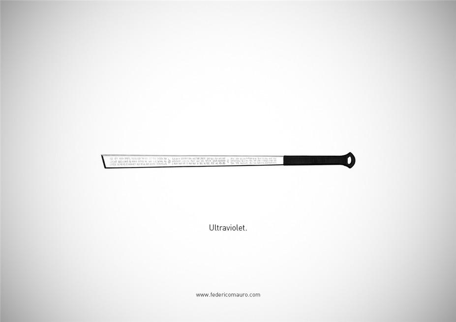 Знаменитые клинки, ножи и тесаки культовых персонажей / Famous Blades by Federico Mauro - Ultraviolet