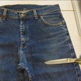 Как распороть старые джинсы